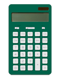 Green calculator image