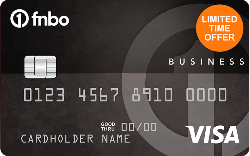 Limited Time Offer Business Edition Visa Card