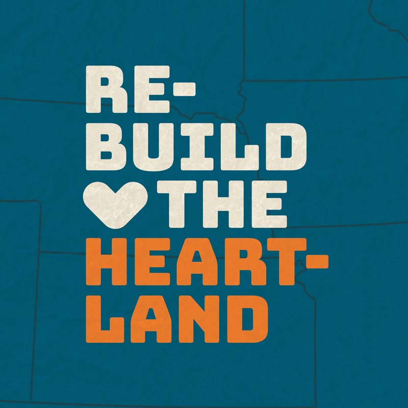 Rebuild the Heartland logo